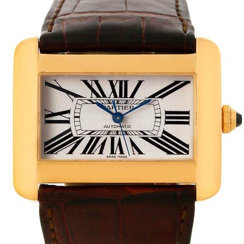 Photo of Cartier Tank Divan Large 18K Yellow Gold Watch W6300856