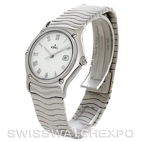 Ebel Stainless Steel Men Watch 9087132/0240P SwissWatchExpo