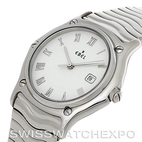 Ebel Stainless Steel Men Watch 9087132/0240P SwissWatchExpo