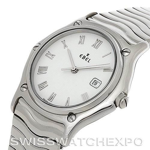 2797 Ebel Stainless Steel Men Watch 9087132/0240P  SwissWatchExpo