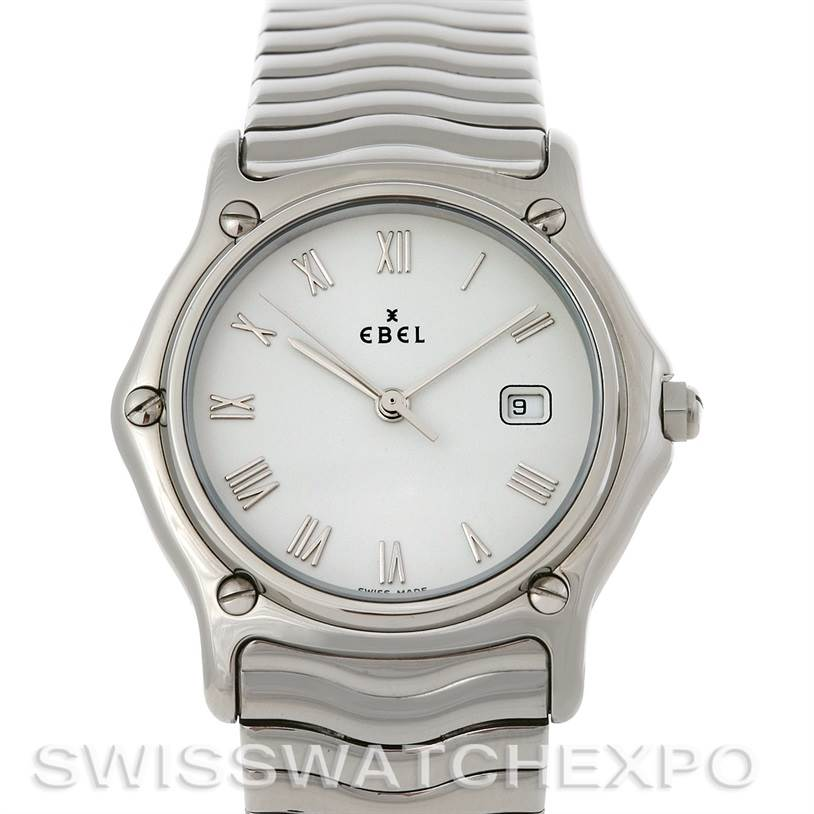 Photo of Ebel Stainless Steel Men Watch 9087132/0240P
