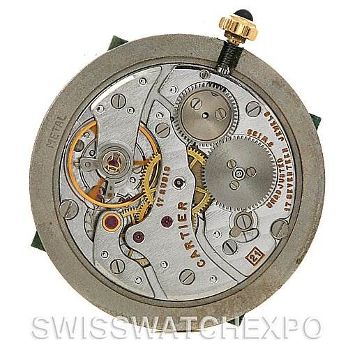 2491 Cartier Santos Dumont Privee Mecanique 18k Yellow Gold SwissWatchExpo