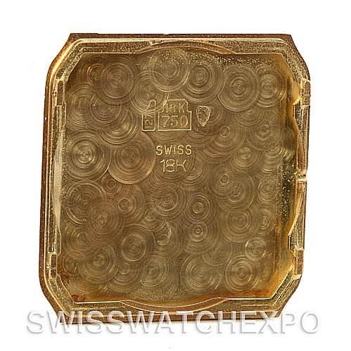 Cartier Santos Dumont Privee Mecanique 18k Yellow Gold SwissWatchExpo
