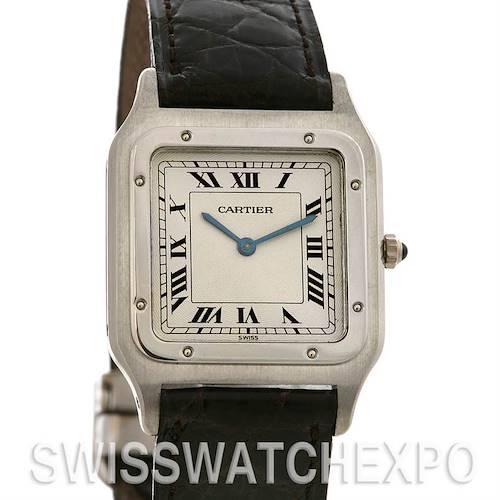 Photo of Cartier Santos Dumont Platinum Mecanique Watch