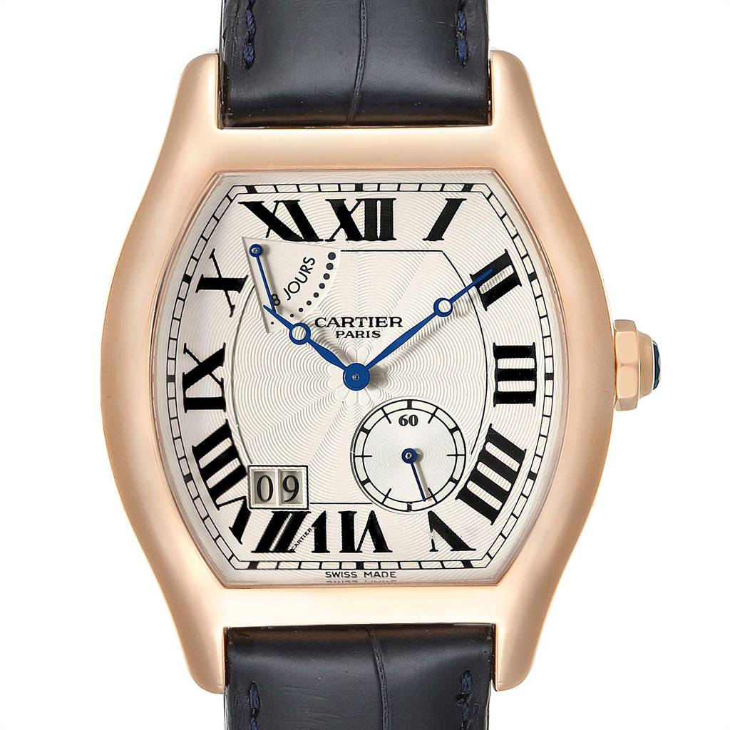 Cartier Tortue CPCP Privee Rose Gold 8 Day Power Reserve Mens Watch W1545851