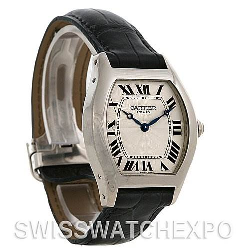 2449 Cartier Tortue Platinum Limited Edition Cpcp W1546151 SwissWatchExpo