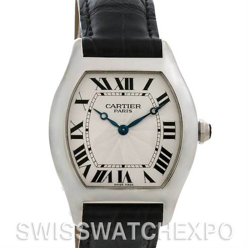 Photo of Cartier Tortue Platinum Limited Edition Cpcp W1546151