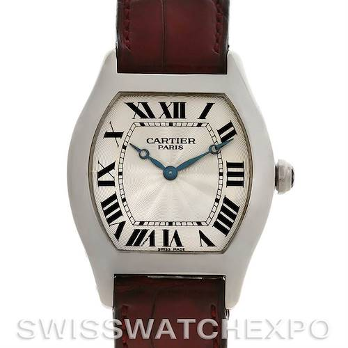 Photo of Cartier Tortue Platinum Limited Edition CPCP W1546151 Watch
