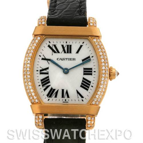 Photo of Cartier Tortue Chinoise 18k Yellow Gold Diamond Privee CPCP Watch