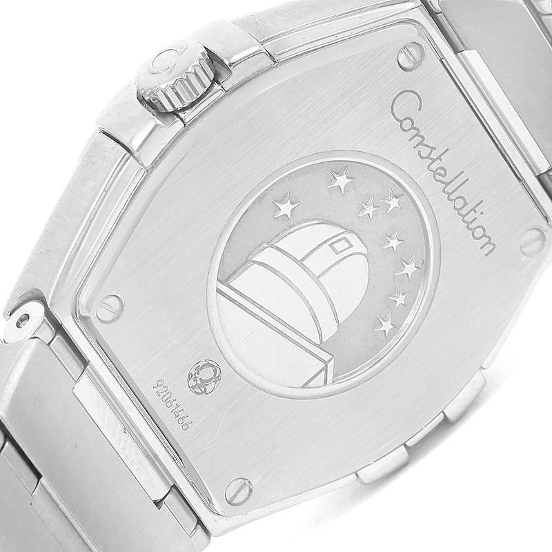 Omega Constellation 27mm Diamond Ladies Watch 123.15.27.60.52.001 SwissWatchExpo