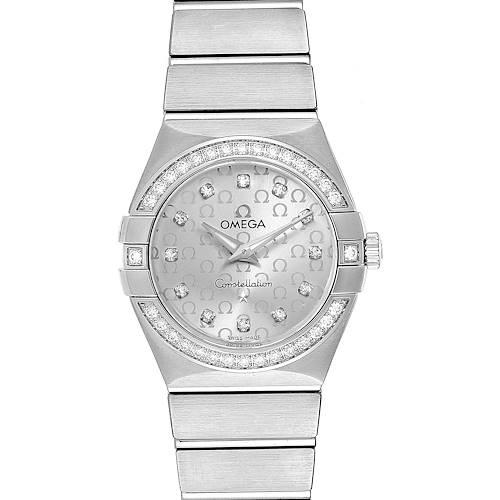 Photo of Omega Constellation 27mm Diamond Ladies Watch 123.15.27.60.52.001