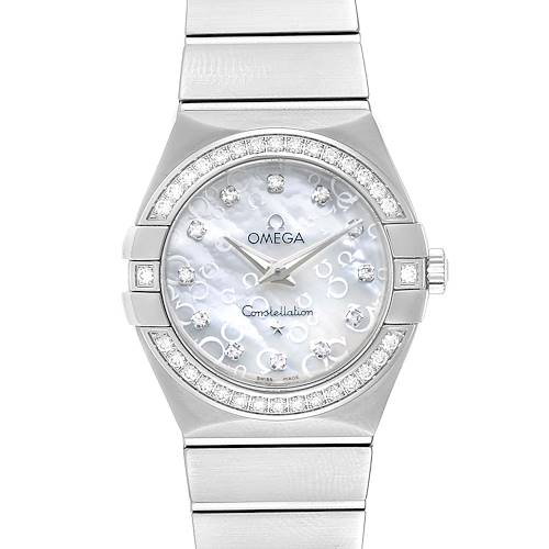 Photo of Omega Constellation MOP Diamonds Ladies Watch 123.15.27.60.55.005 Unworn