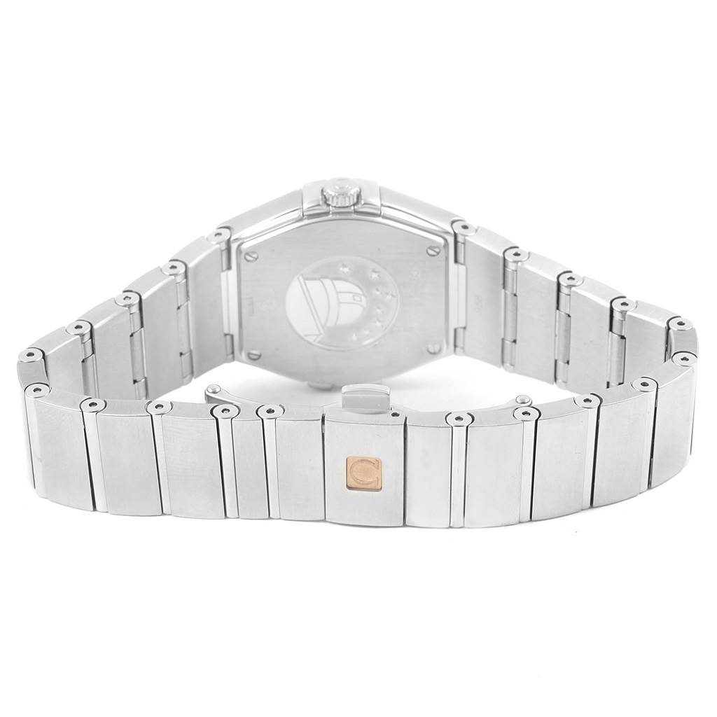 Omega Constellation Diamonds Ladies Watch 123.15.27.60.55.005 Unworn SwissWatchExpo
