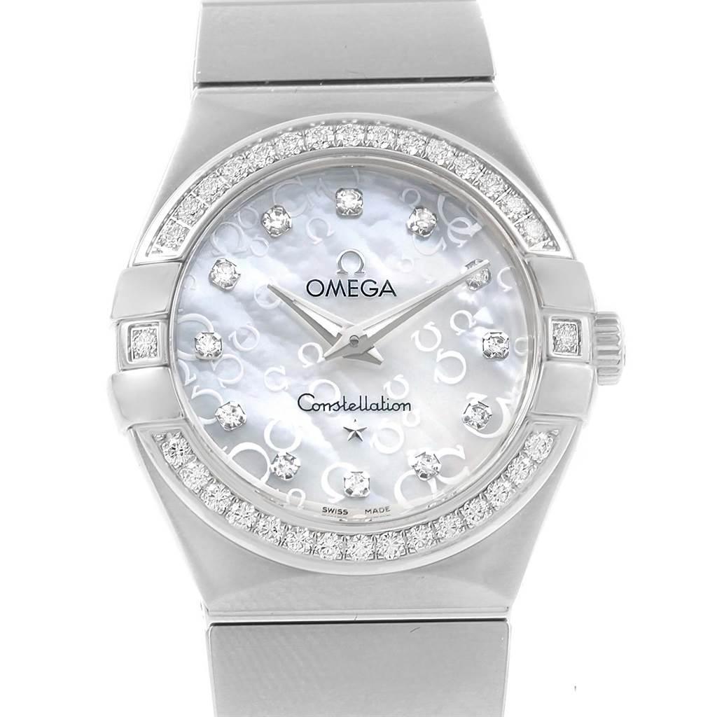 Photo of Omega Constellation Diamonds Ladies Watch 123.15.27.60.55.005 Unworn