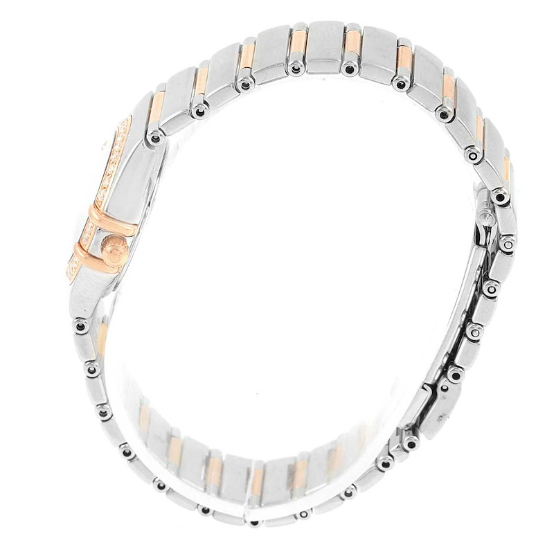 Omega Constellation My Choice MOP Diamond Dial Ladies Watch 1368.71.00 SwissWatchExpo