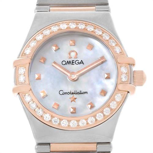 Photo of Omega Constellation My Choice MOP Diamond Dial Ladies Watch 1368.71.00