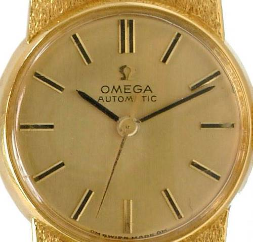 Photo of Omega Vintage Ladies 18k Yellow Gold 7169 Watch
