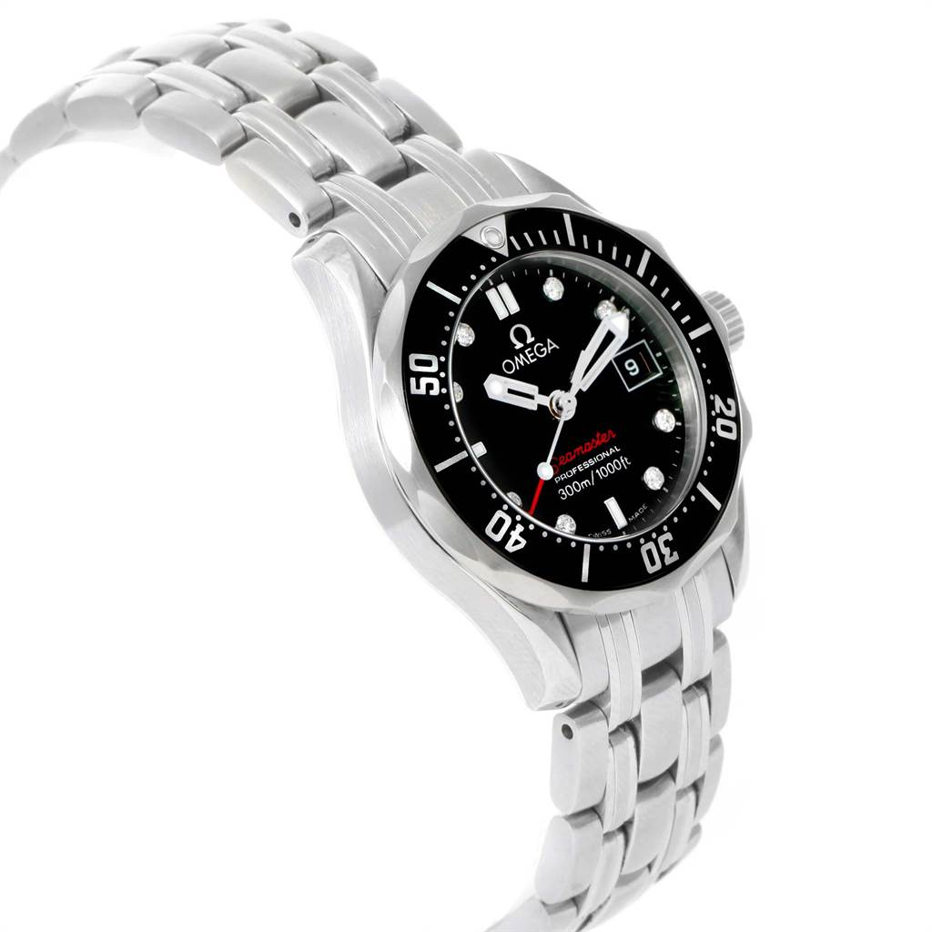 Omega Seamaster Diamond Ladies Watch 212.30.28.61.51.001 Box Card SwissWatchExpo