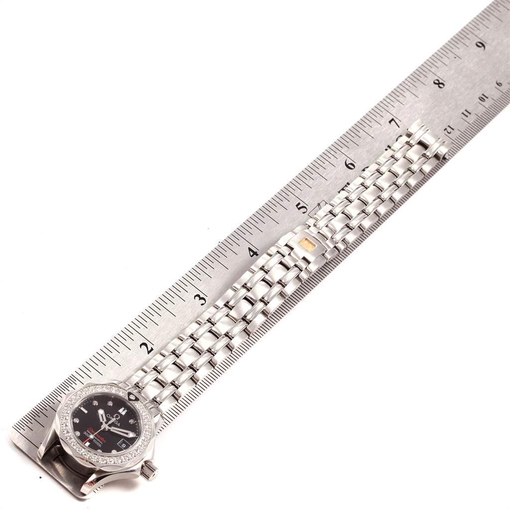Omega Seamaster 300m Diamond Ladies Watch 212.15.28.61.51.001 SwissWatchExpo