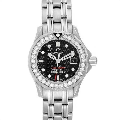 Omega Seamaster 300m Diamond Ladies Watch 212.15.28.61.51.001