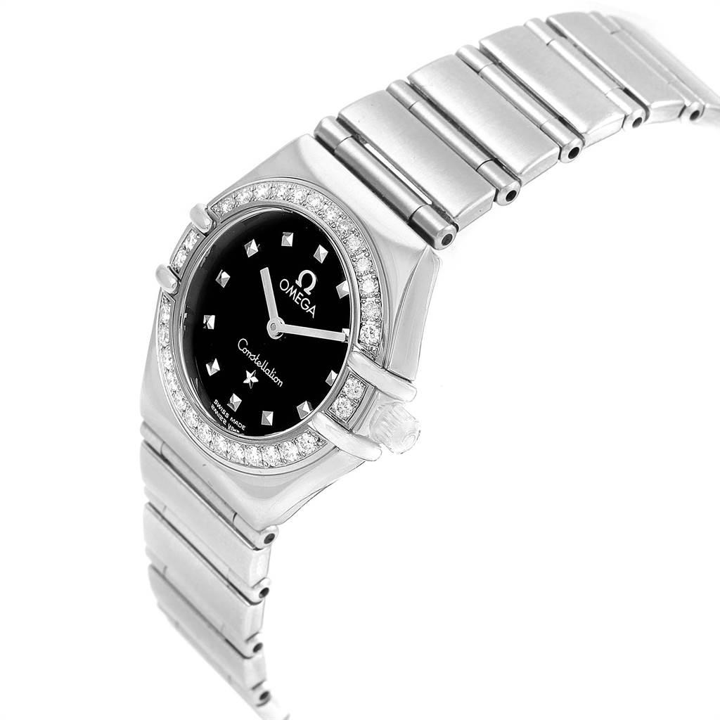 Omega Constellation My Choice Mini Ladies Diamond Watch 1465.51.00 SwissWatchExpo