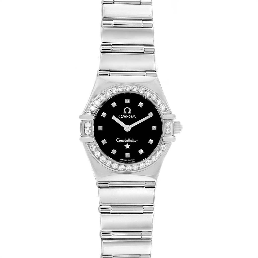 Photo of Omega Constellation My Choice Mini Ladies Diamond Watch 1465.51.00