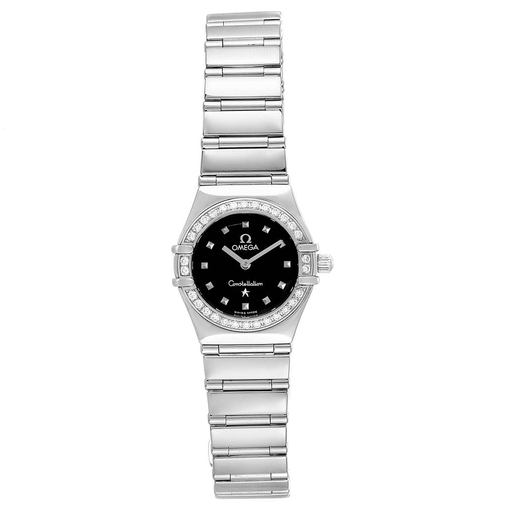 Omega Constellation My Choice Mini Ladies Diamond Watch 1465.51.00 SwissWatchExpo