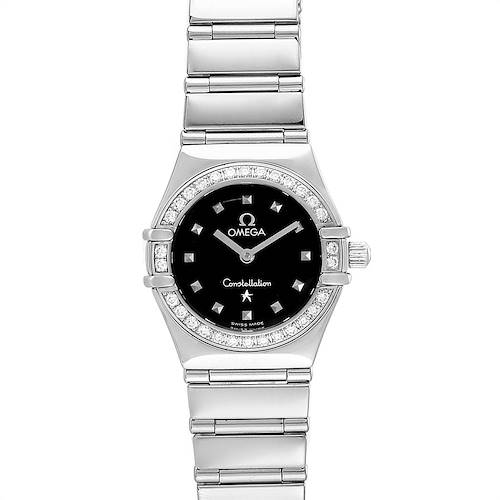 Photo of Omega Constellation My Choice Mini Ladies Diamond Watch 1465.51.00
