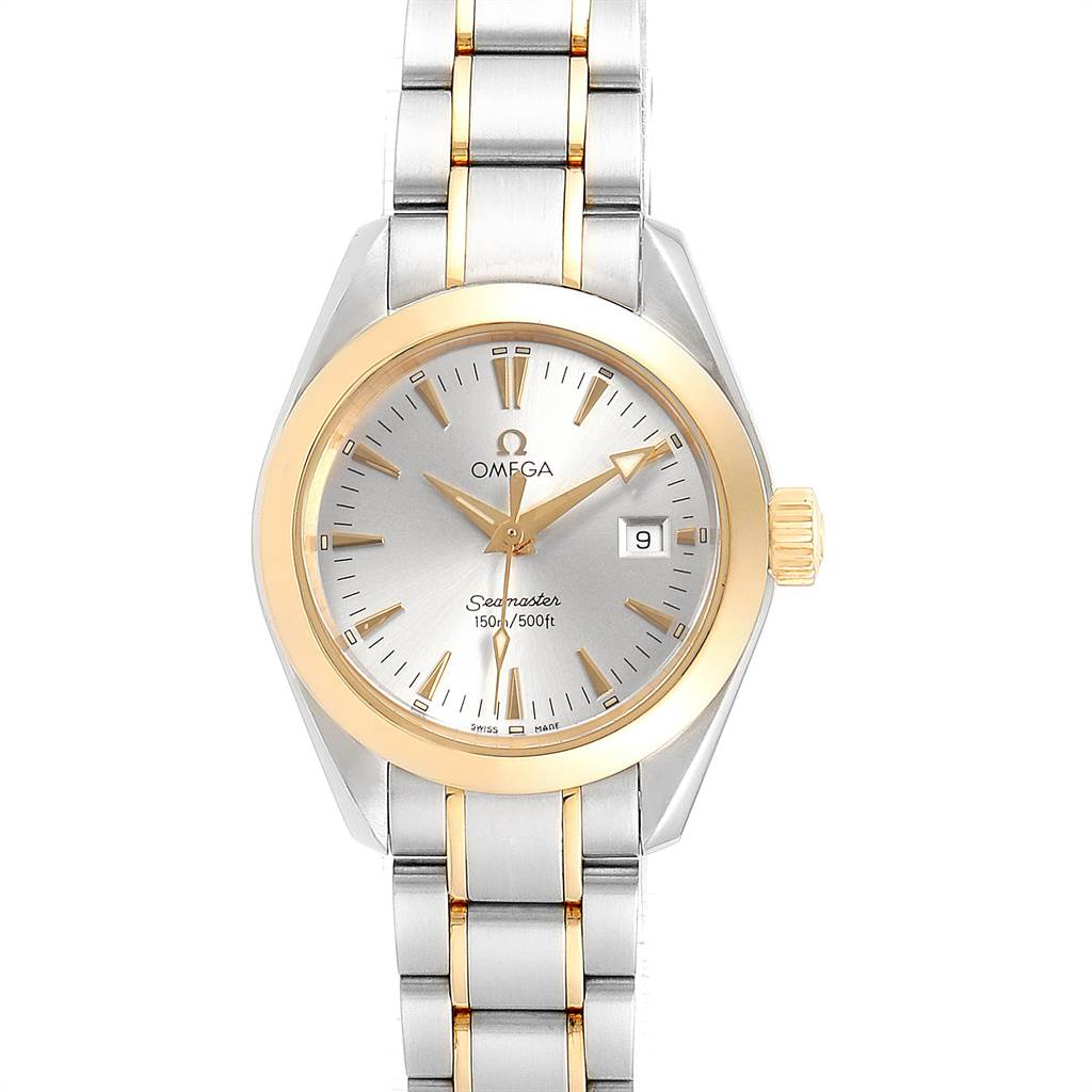 Photo of Omega Seamaster Aqua Terra Steel Yellow Gold Ladies Watch 2377.30.00