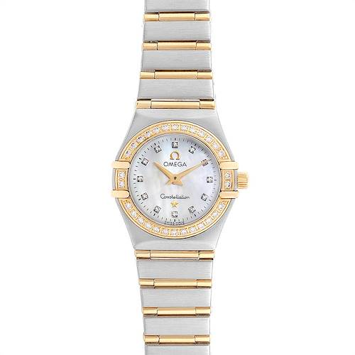 Photo of Omega Constellation 22 Mother of Pearl Diamond Ladies Watch 1267.75.00