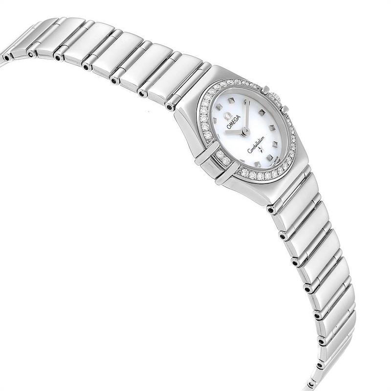 Omega Constellation My Choice Mini Diamond Steel Watch 1465.71.00 SwissWatchExpo