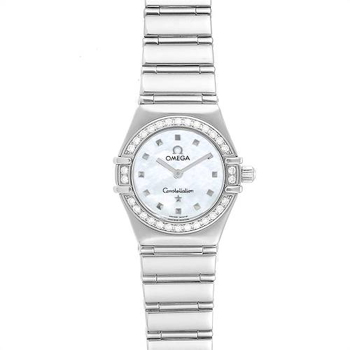 Photo of Omega Constellation My Choice Mini Diamond Steel Watch 1465.71.00