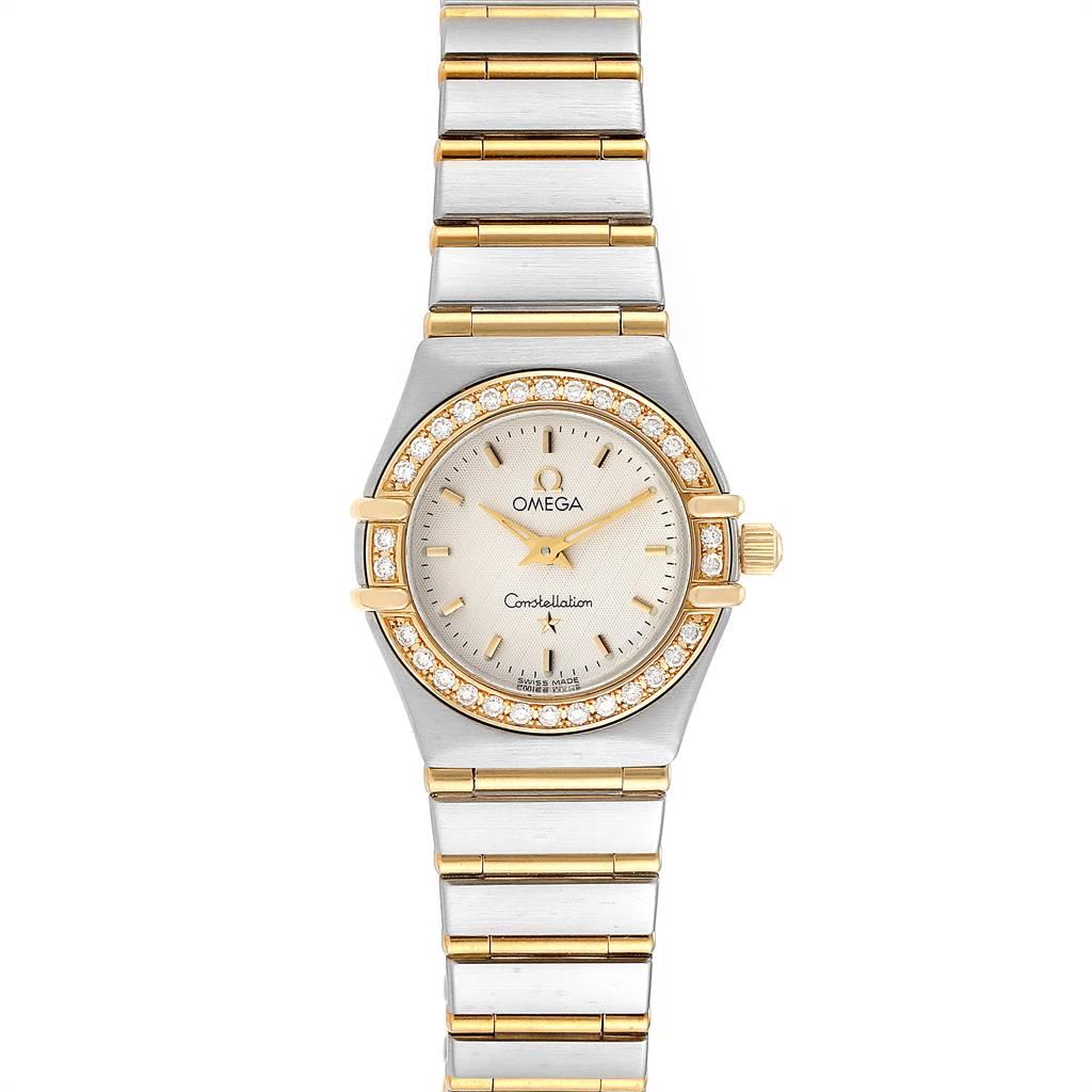 Photo of Omega Constellation 95 Steel Yellow Gold Diamond Ladies Watch 1267.30.00