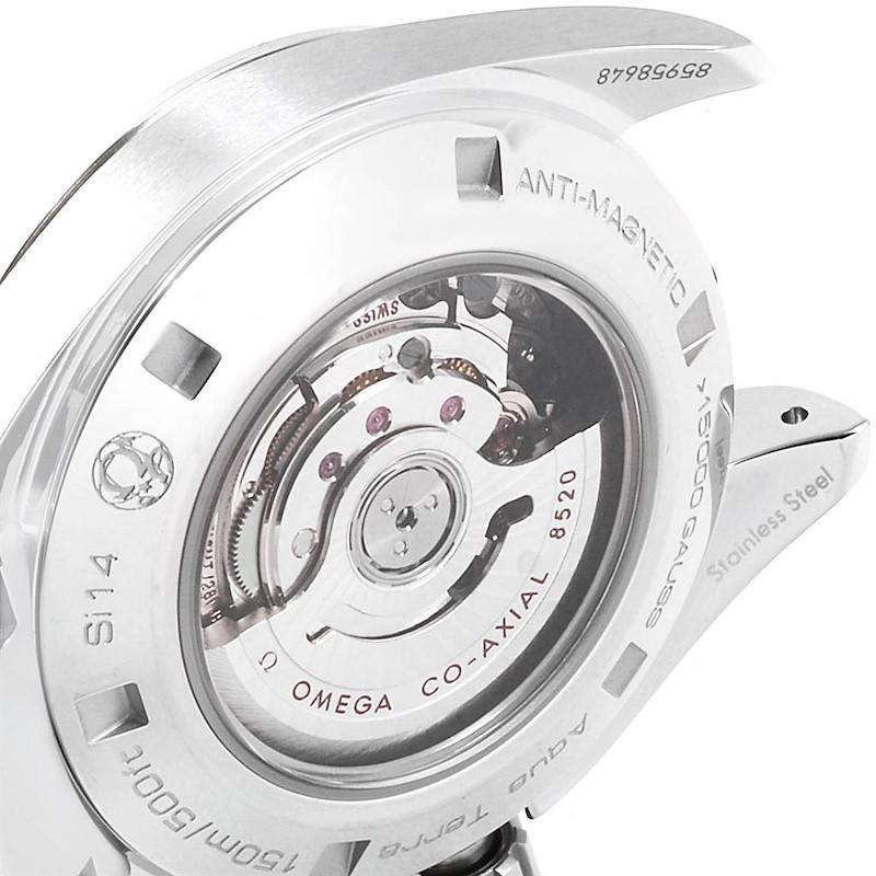 Omega Aqua Terra 34 Steel Diamond Ladies Watch 231.15.34.20.55.002 Unworn SwissWatchExpo