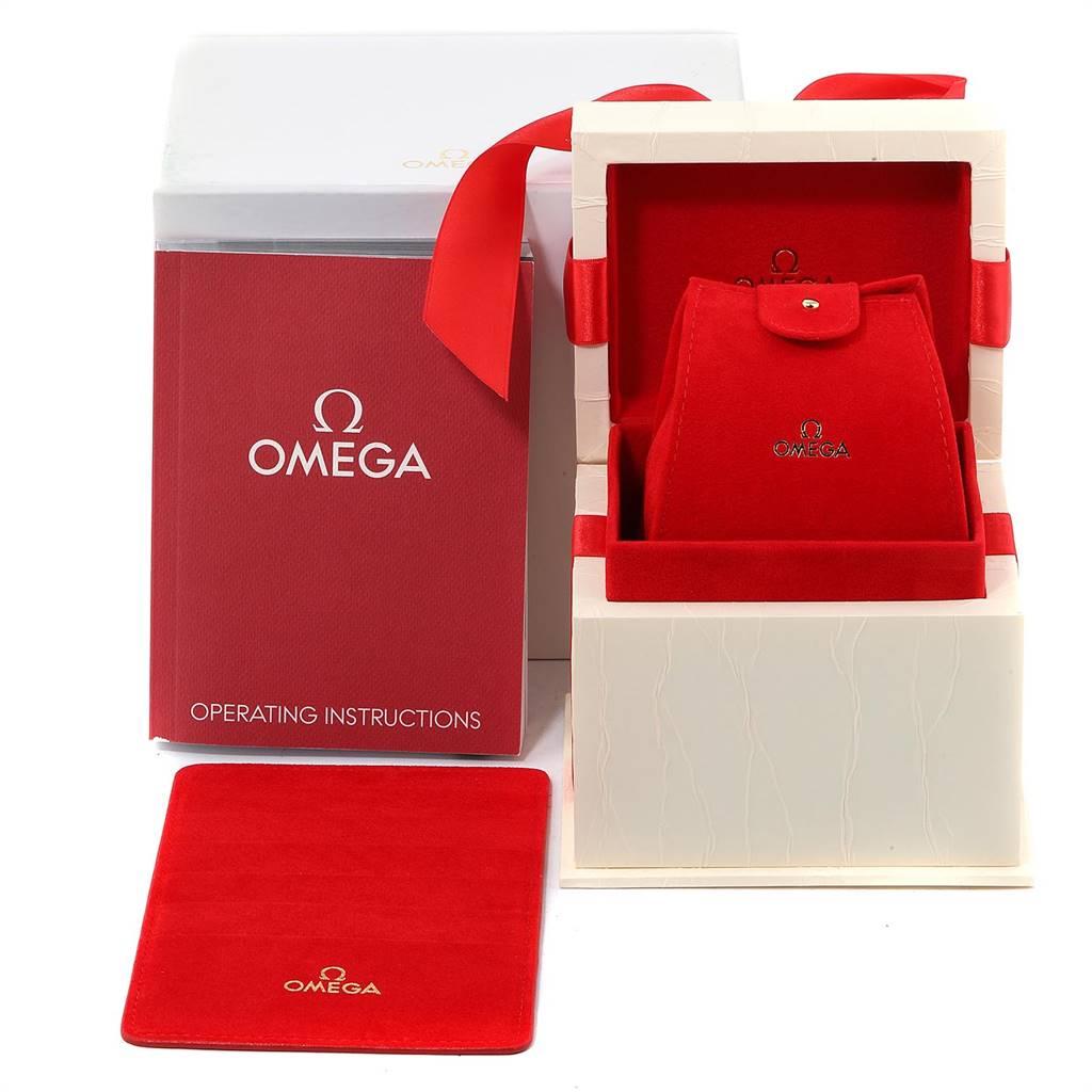Omega Constellation Steel Yellow Gold Diamond Ladies Watch 1365.71.00 SwissWatchExpo