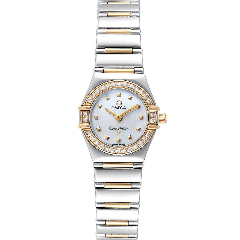 Photo of Omega Constellation Steel Yellow Gold Diamond Ladies Watch 1365.71.00