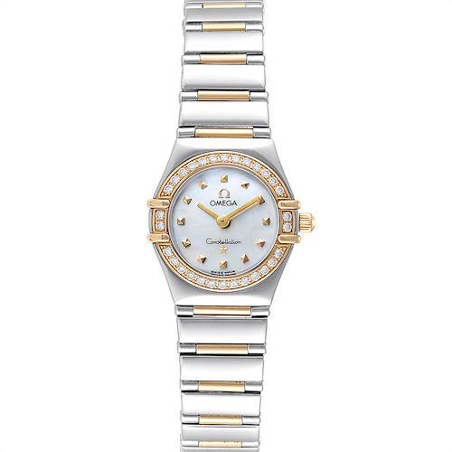 Photo of Omega Constellation Steel Yellow Gold Diamond Ladies Watch 1365.71.00