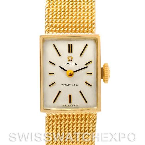 Photo of Omega Vintage Ladies 14k Yellow Gold Watch Made For Tiffany