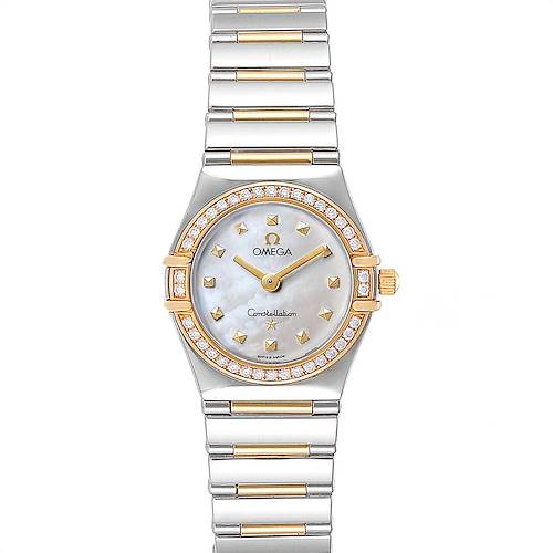 Photo of Omega Constellation My Choice Steel Yellow Gold Diamond Watch 1376.71.00