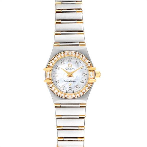 Photo of Omega Constellation Steel Yellow Gold Diamond Ladies 1367.75.00 Card
