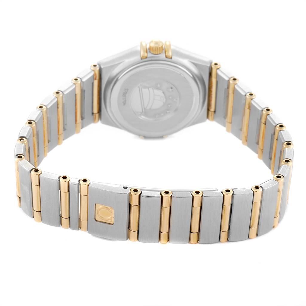 Omega Constellation 95 Mother of Pearl Diamond Ladies Watch 1267.75.00 SwissWatchExpo