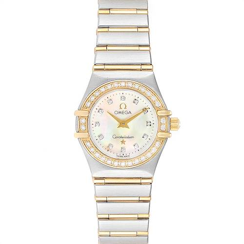 Photo of Omega Constellation 95 Mother of Pearl Diamond Ladies Watch 1267.75.00