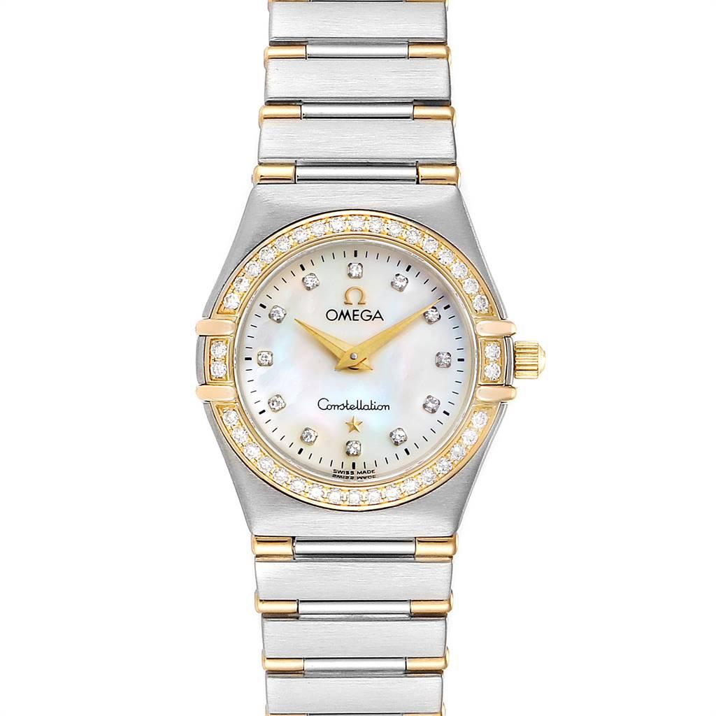 Photo of Omega Constellation My Choice Steel Yellow Gold Diamond Watch 1377.75.00