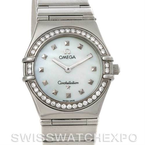 Photo of Omega Constellation My Choice Ladies Quartz Small Watch 1475.71.00