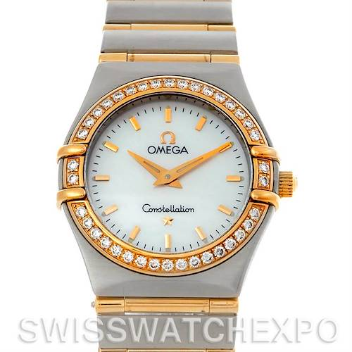 Photo of Omega Constellation My Choice Steel Gold Diamond Watch 1277.70.00