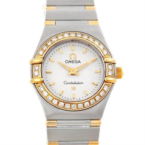 Photo of Omega Constellation Mini Steel and Gold Diamond Watch