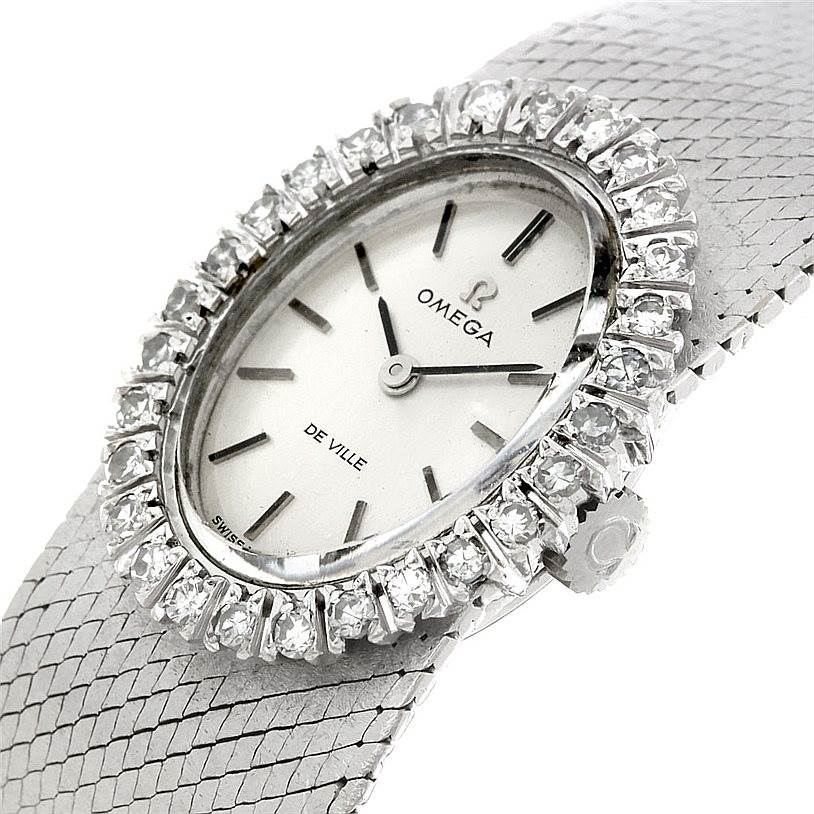 Omega Women S Watches With Diamonds