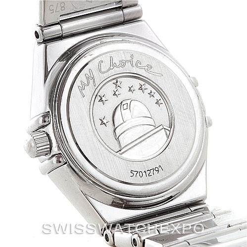 7274 Omega Constellation My Choice Ladies Mini Watch 1465.71.00 SwissWatchExpo
