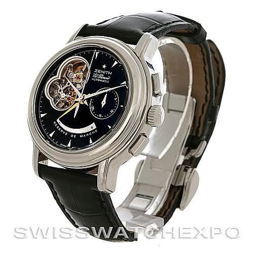 Zenith 03.0240.4021/21.C495 Chronomaster T Open Watch SwissWatchExpo