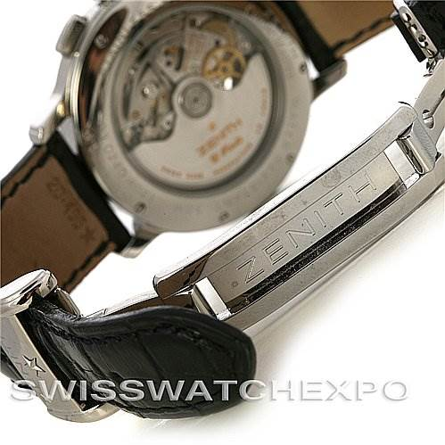 2941 Zenith 03.0240.4021/21.C495 Chronomaster T Open Watch SwissWatchExpo